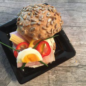 VK-Sandwich gefüllt