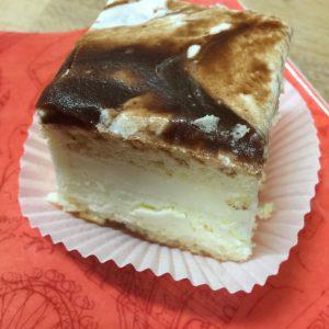 Vanille-Schokbaiser-Würfel