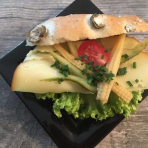Sandwich gefüllt